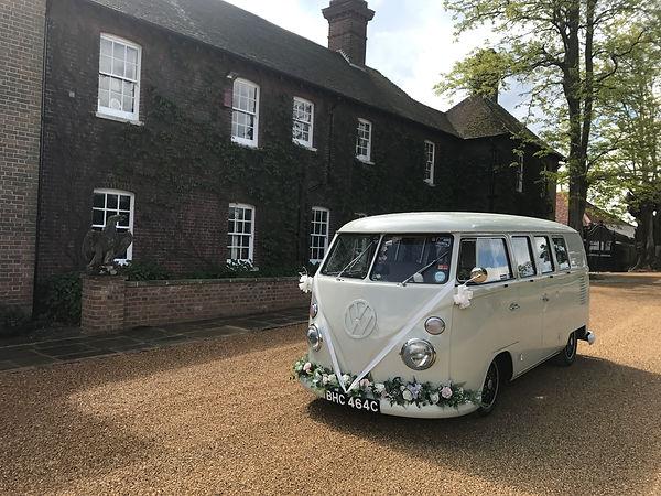 Wedding car hire in Sevenoaks, Kent