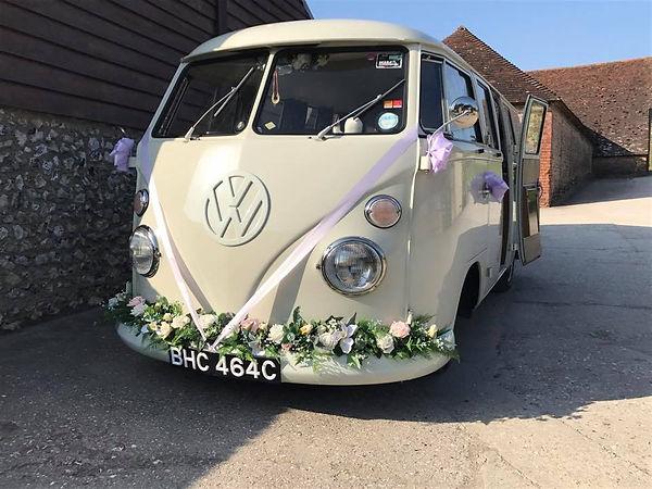 Boho Wedding Car hire in Essex, London, Kent and Surrey.