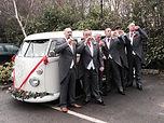 quirky wedding, unusual wedding car, unique wedding