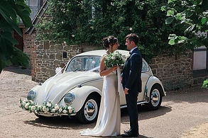 Beetle wedding car hire in London, Kent, Essex, Sussex and Surrey.
