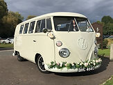 vw camper weddings