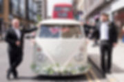 vw camper van wedding hire, camper wedding hire, unusual wedding car, alternative wedding car