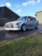 ford escort wedding car