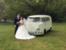 VW wedding car in Kent