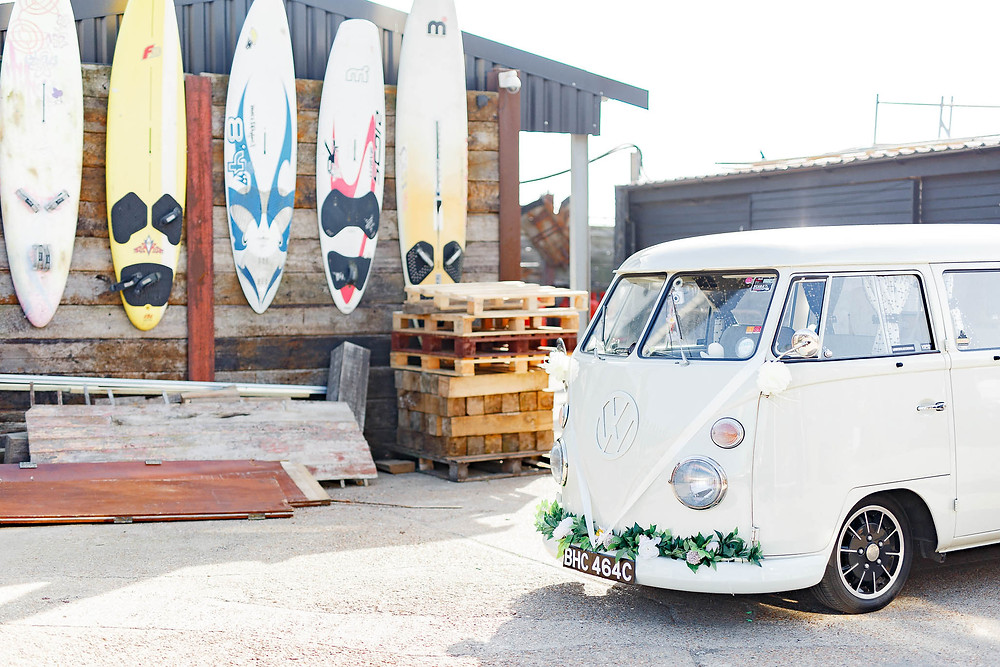 wedding campervan hire