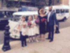vintage wedding car chelsea