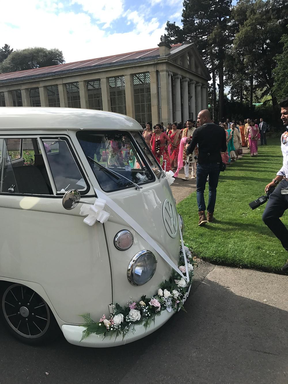 wedding camper van hire