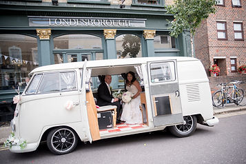 Vintage wedding car hire Islington