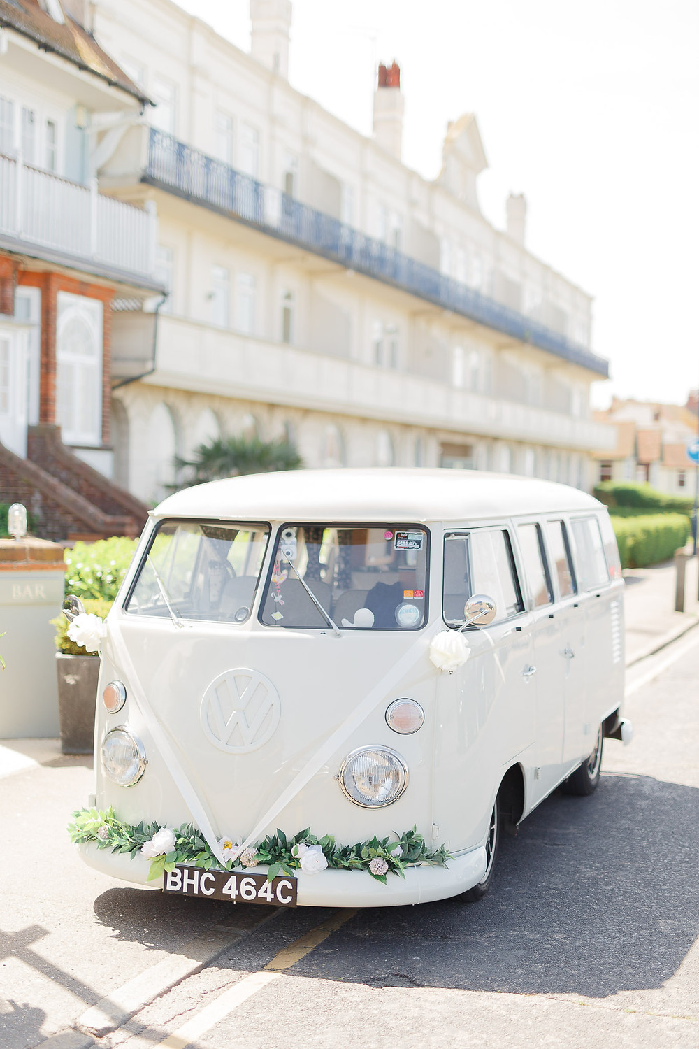 wedding camper hire surrey