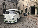 vw wedding camper van