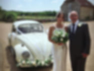 vw beetle wedding hire, vw camper wedding hire, campervan wedding hire, unusual wedding car