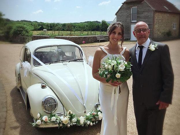 vw beetle wedding hire, vw camper wedding hire, campervan wedding hire, unusual wedding car