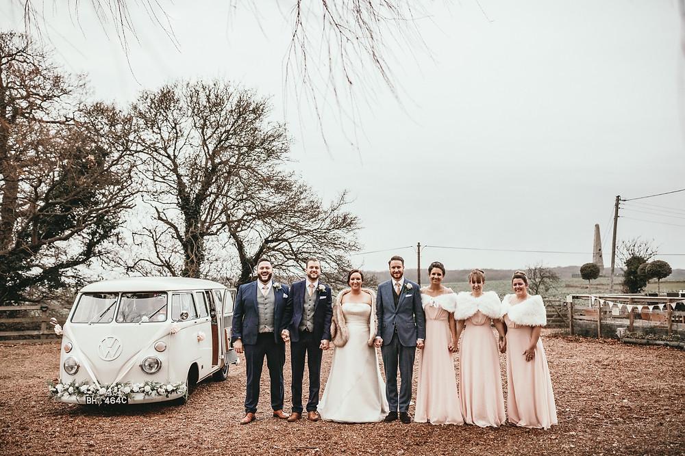 vintage vw wedding car hire retro london kent essex surrey