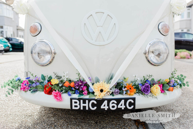 VW camper wedding hire in London, Kent, Essex, Surrey and Sussex.