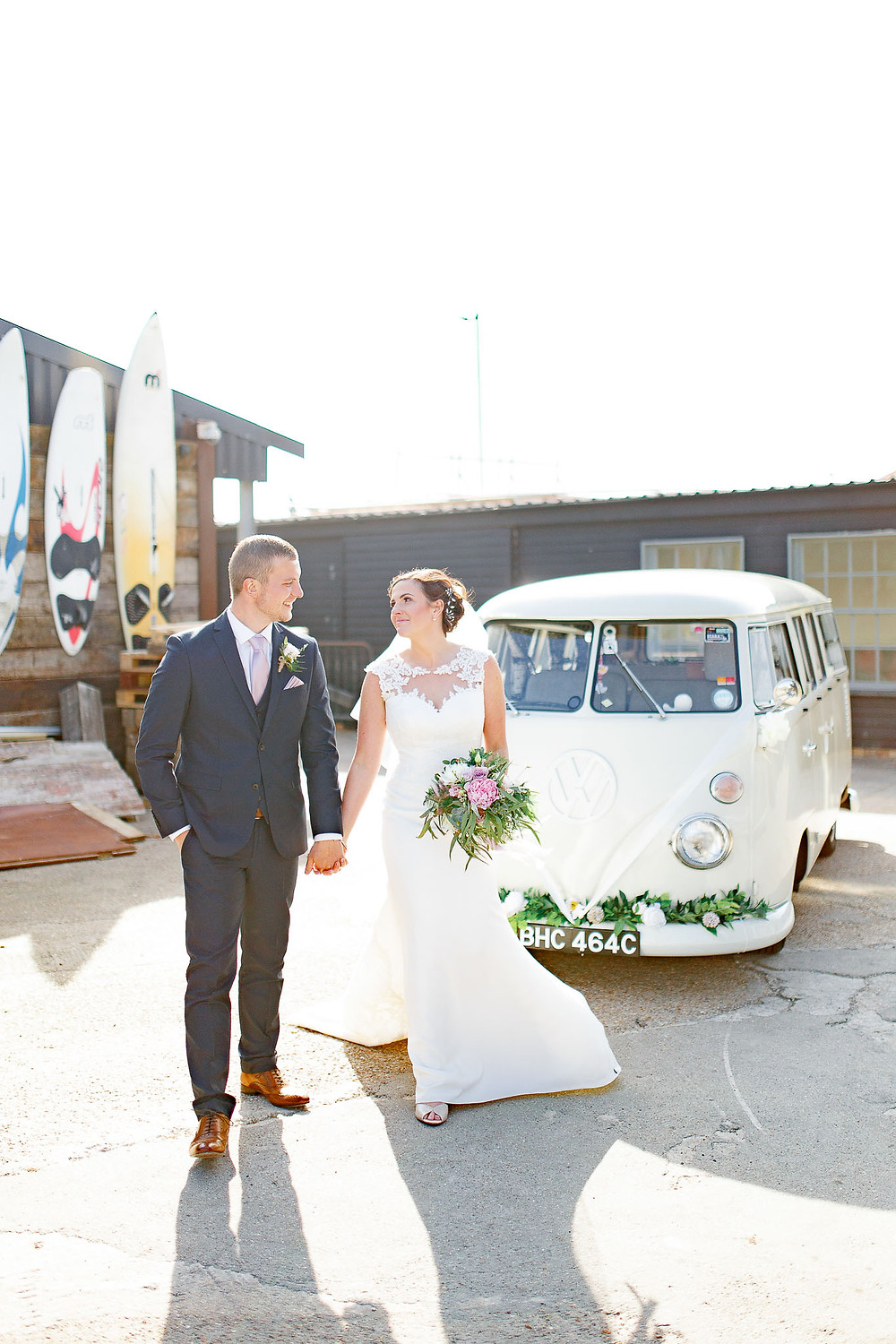 vw wedding camper kent