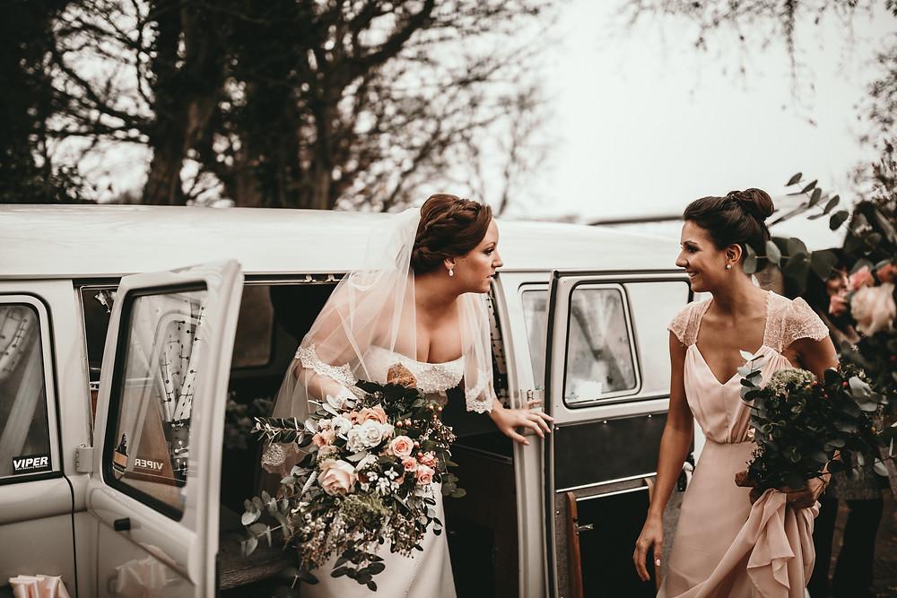 retro wedding car hire london kent essex surrey vw camper van