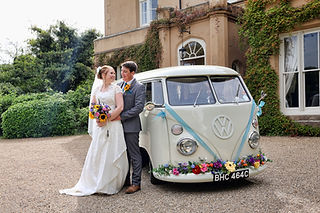 Award winning VW wedding camper van