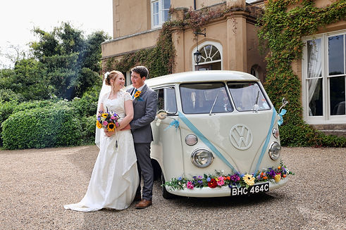 wedding car hire near sevenoaks at nurstead court