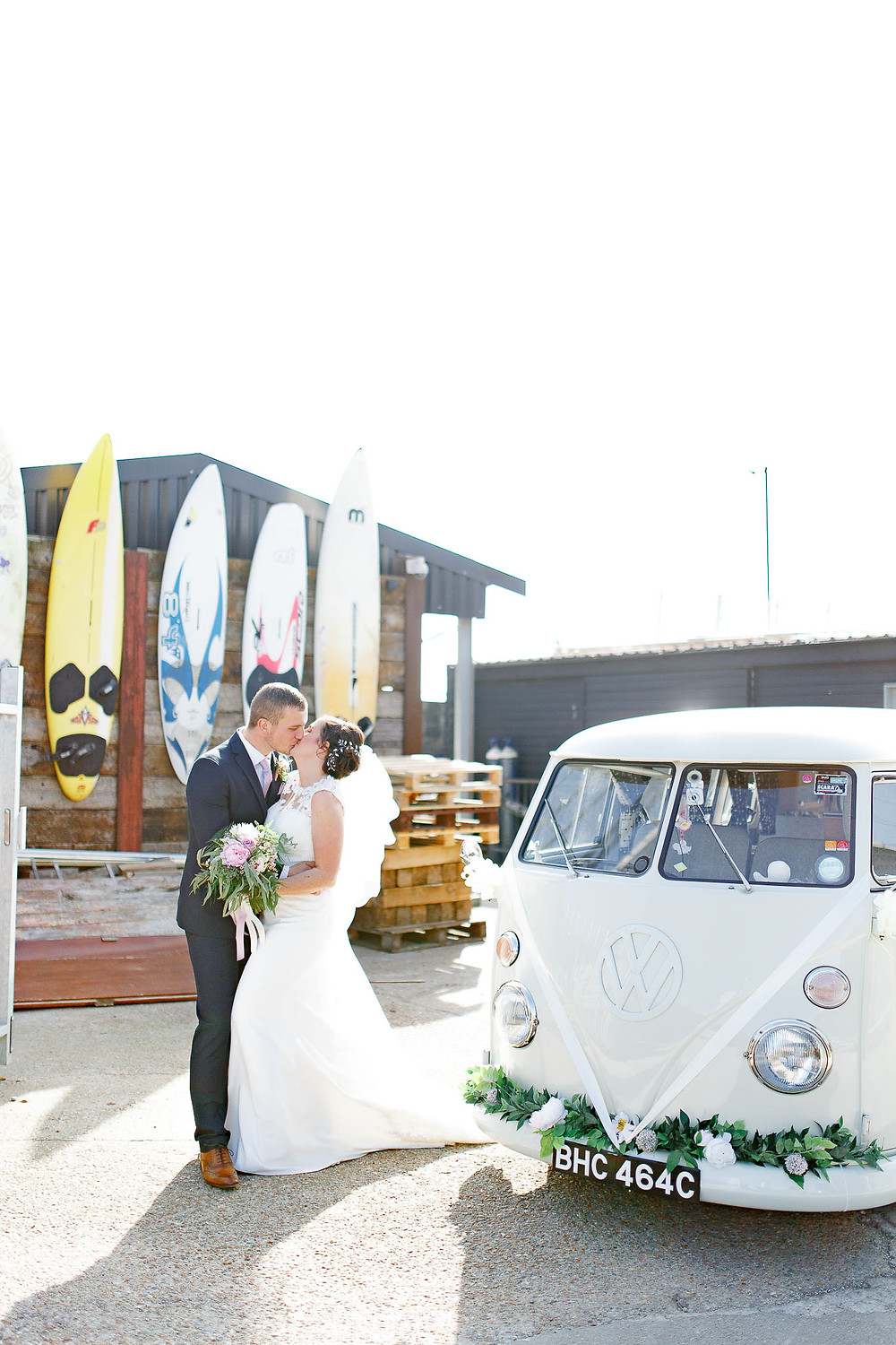 wedding camper hire essex