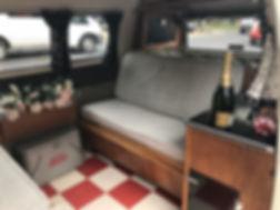 vintage wedding car welling