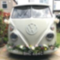 vintage wedding car london