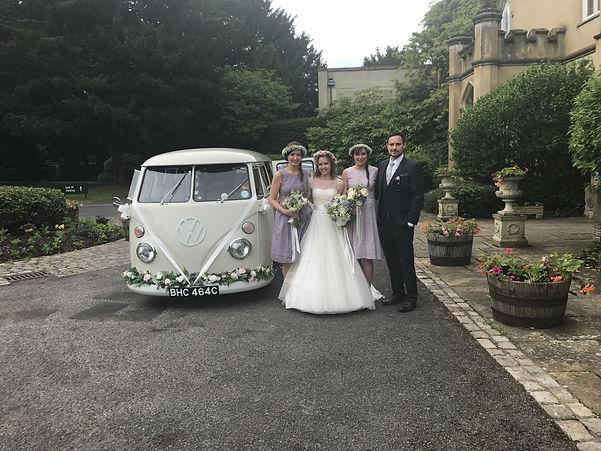 VW wedding car to hire in Sevenoaks, Kent