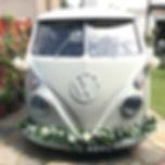classic vw wedding cars