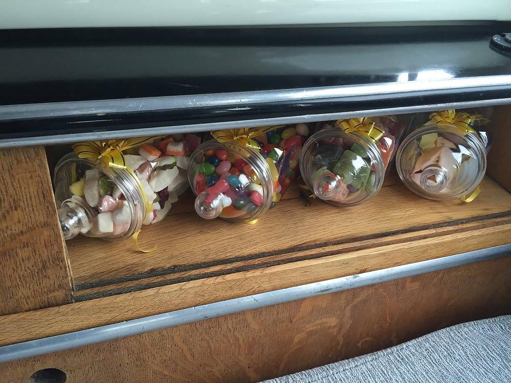 retro wedding car hire london kent essex surrey sweets