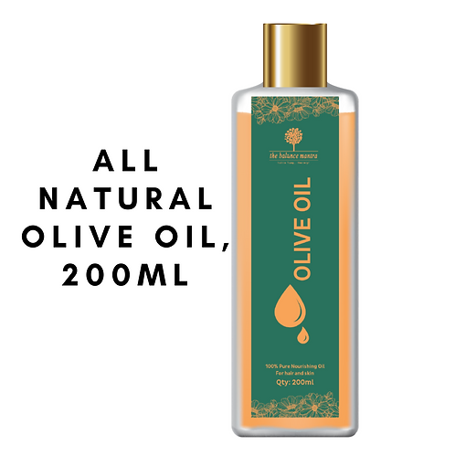 The Balance Mantra 100% Pure Olive Oil For Skin & Hair