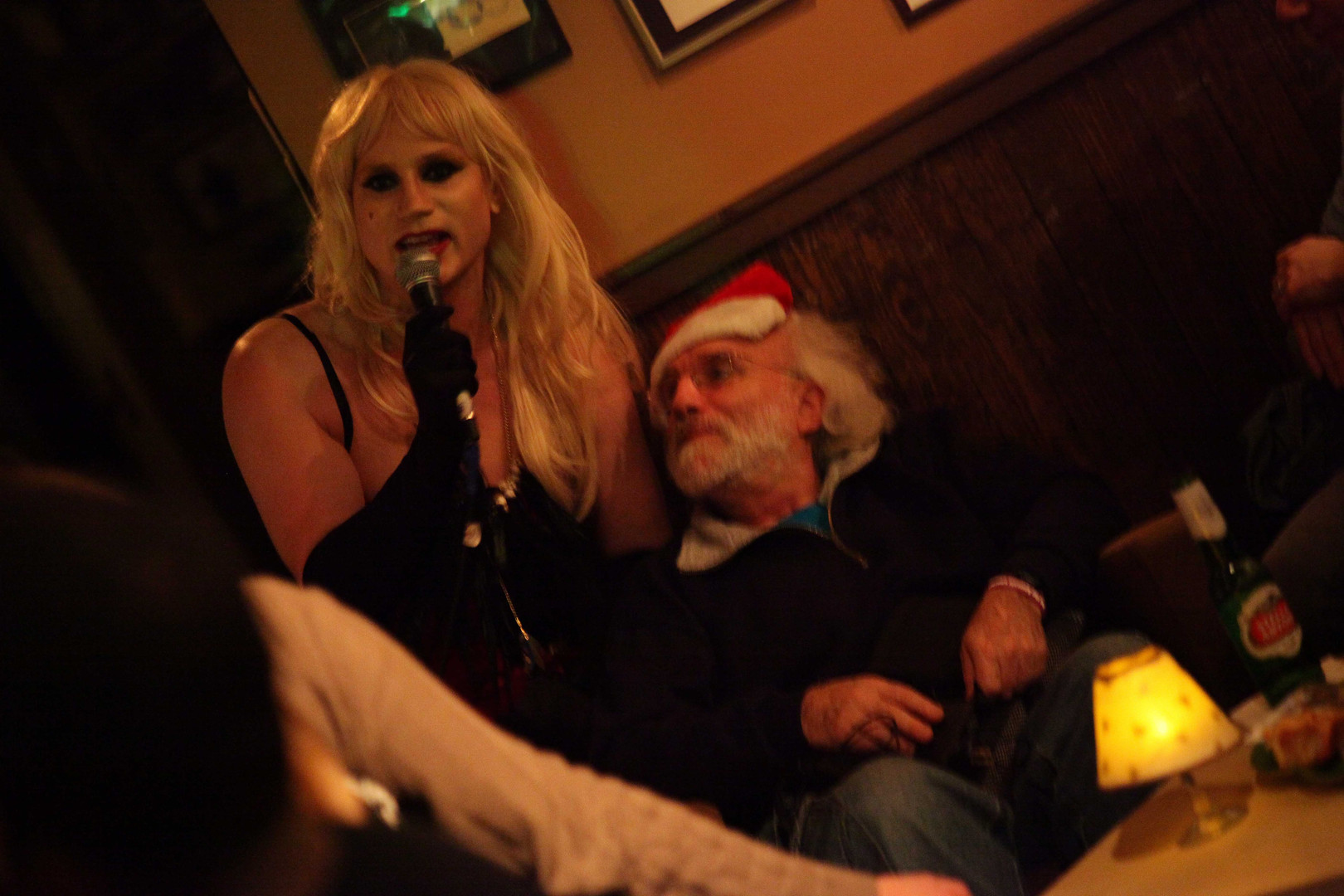Mia Finds Santa