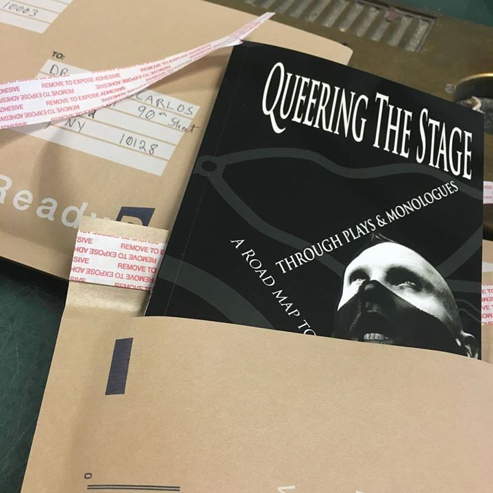 My Book: Queering The Stage