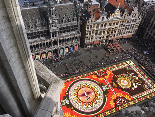México enamoró a Bruselas con una alfombra monumental