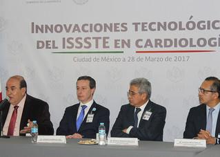 Presenta el ISSSTE innovaciones de vanguardia a nivel nacional en cardiología