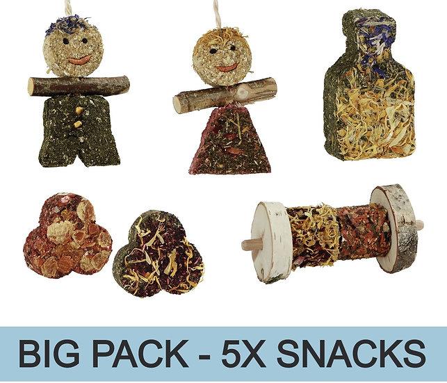 Mélange  de snacks - 5x