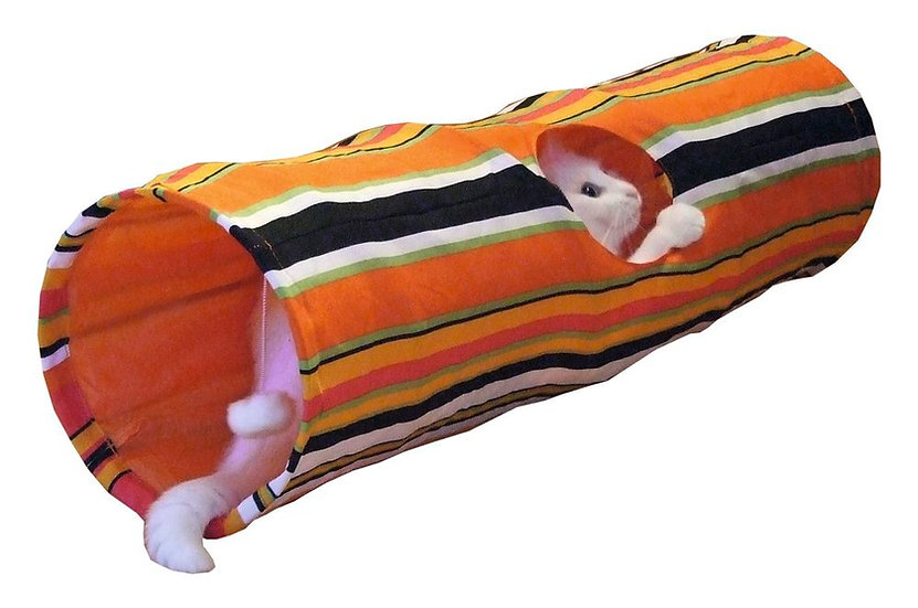 Tunnel en tissu multicolore 90cm LAP