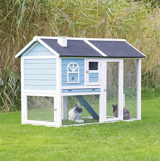 Clapier blanc et bleu 62328 (Trixie)