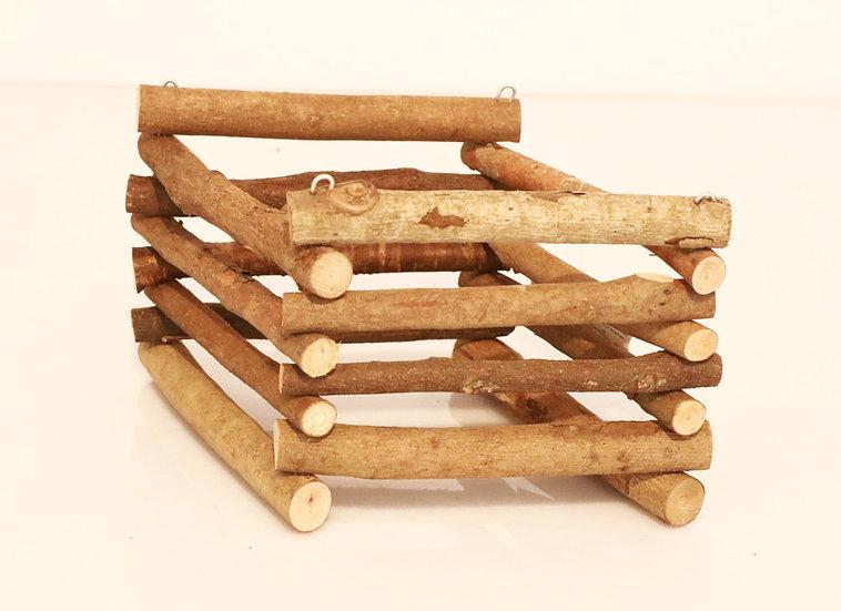Râtelier en bois carré