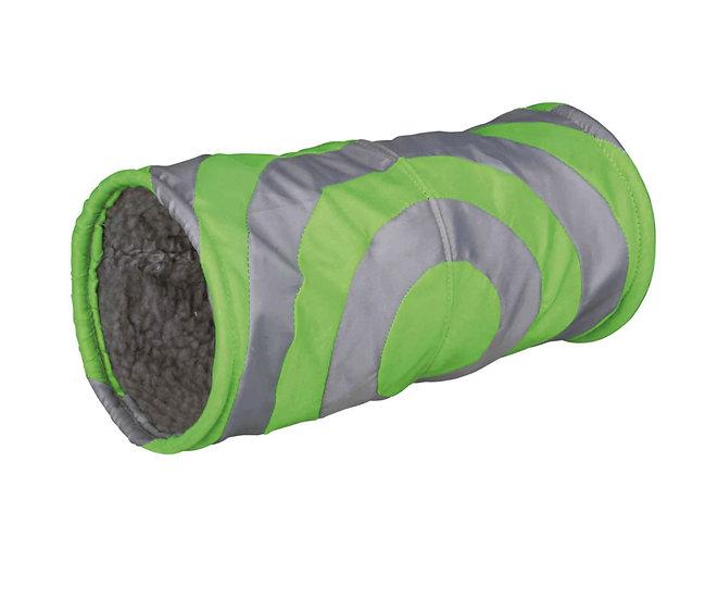 Tunnel en tissu vert/gris CDI