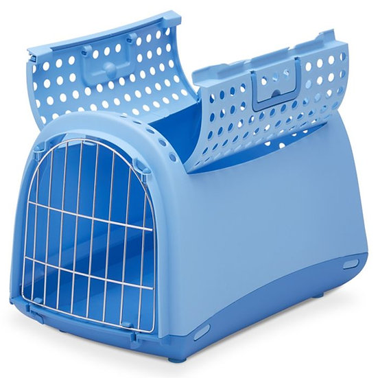 "Caisse de transport Linus ""bleu"""