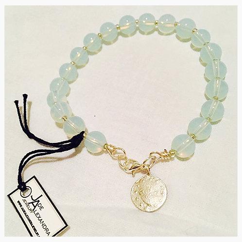 Moonstone Clasp JA Bracelet