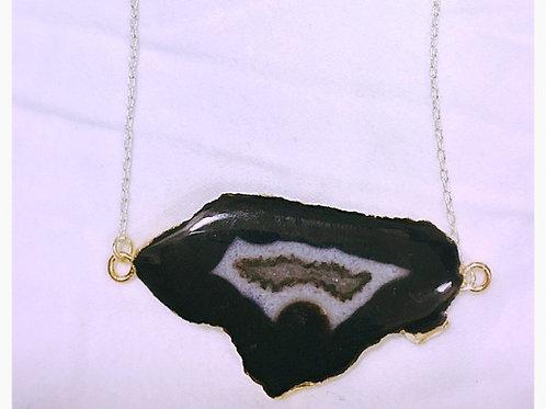 Black Geode JA Necklace