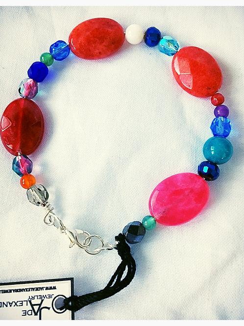 Multi Bead JA Bracelet