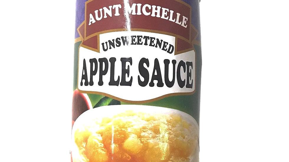 Apple Sauce Unsweetened | Aunt Michelle
