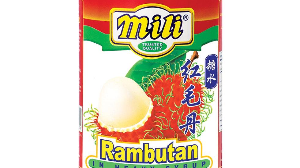 Rambutan in Heavy Syrup   Mili