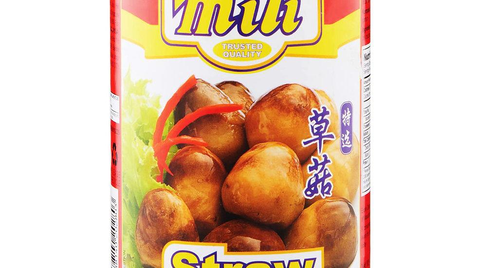Straw Mushrooms Whole   Mili