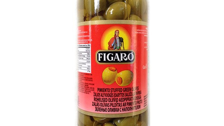 Green Stuffed Olives    Figaro