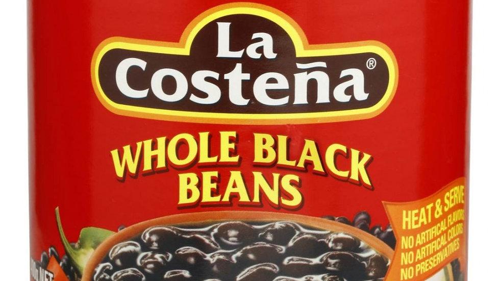 Black Beans Whole | La Costena