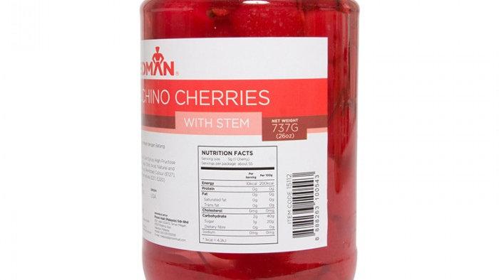 Maraschino Cherries with Stem | Redman