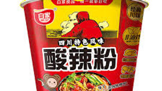 Sour & Spicy Instant Vermicelli Noodles | BaiJia