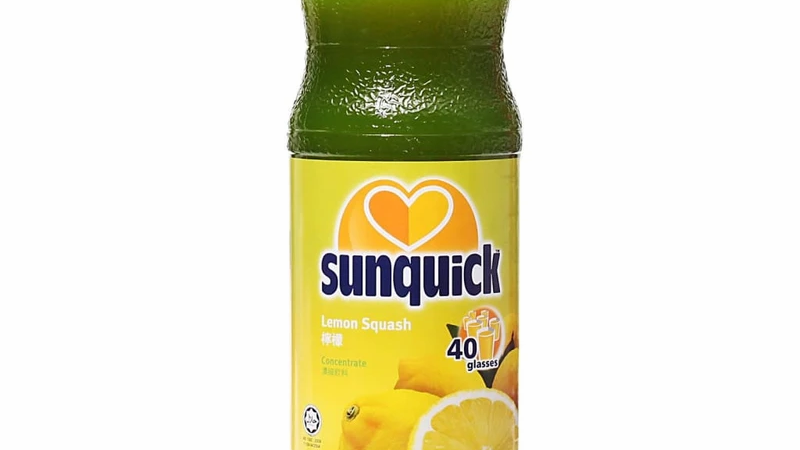 Lemon Squash Concentrate | Sunquick